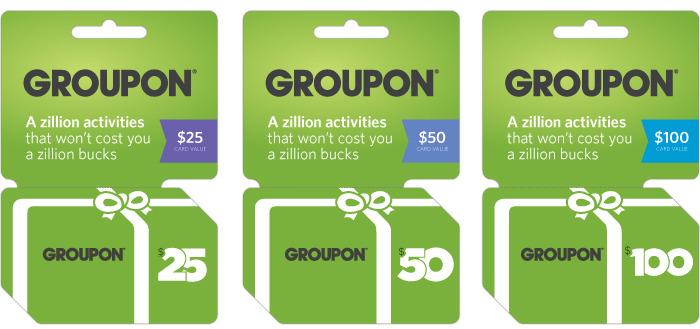 Groupon Gift Card - 1